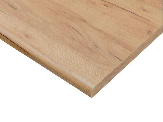 Nejlevnější nábytek Rohová kuchyně COLBY 215x250 cm, bílý lesk