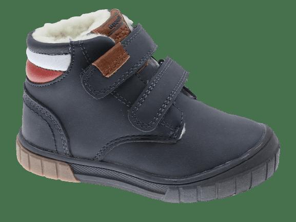 Beppi dětská zimní kotníčková obuv 2181551 24 tmavě modrá
