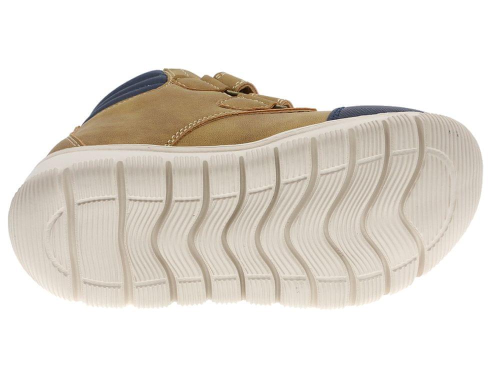 Beppi dětská kotníčková obuv 2182070 24 hnědá