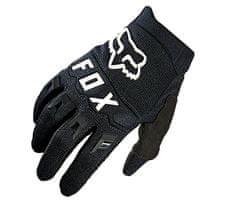 Fox dětské motokrosové rukavice Yth Dirtpaw black/white vel. S