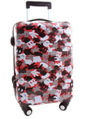 Disney Mickey Mouse, utazási bőrönd gyerekeknek, 31 x 21,5 x 56 cm méretű