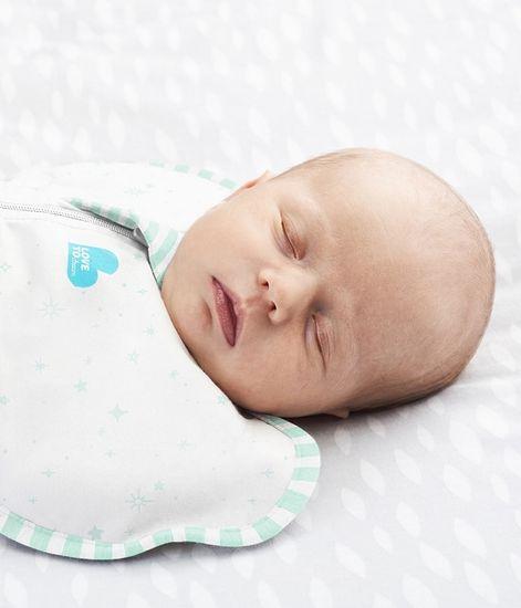 LOVE TO DREAM Swaddle UP - Zavinovačka, veľkosť M, mäta 1 FÁZA Organic, 3-6m, 6-8,35kg