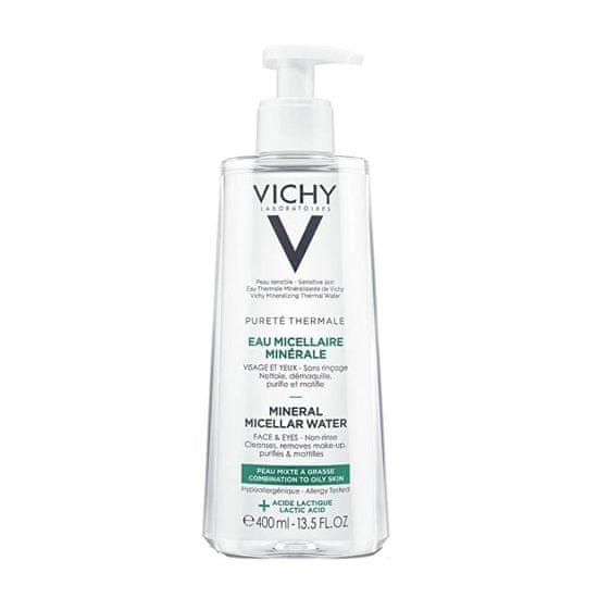 Vichy Mineralna micelarna voda za mešano in mastno kožo Pure té Thermale ( Mineral Micellar Water)