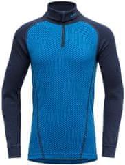Devold Duo Active Junior Zip Neck fantovska funkcionalna majica, modra, 152