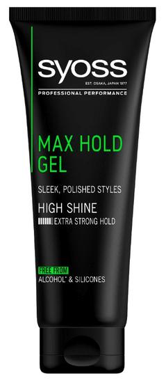 Syoss gel za lase, Max Hold, 250 ml