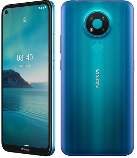 Nokia 3.4 mobilni telefon, 3 GB/64 GB, Moder