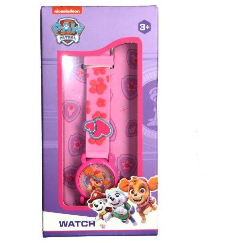 """Vadobag Gyermek analóg órát """"Mancs örjárat 3D"""" - rózsaszín"""