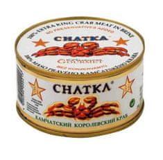 Chatka Maso kamčatského kraba,100% kousky, 165g