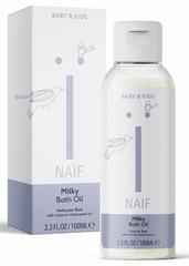 NAIF Mléčný koupelový olej 100 ml