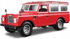 BBurago auto Land Rover 1:24, czerwony