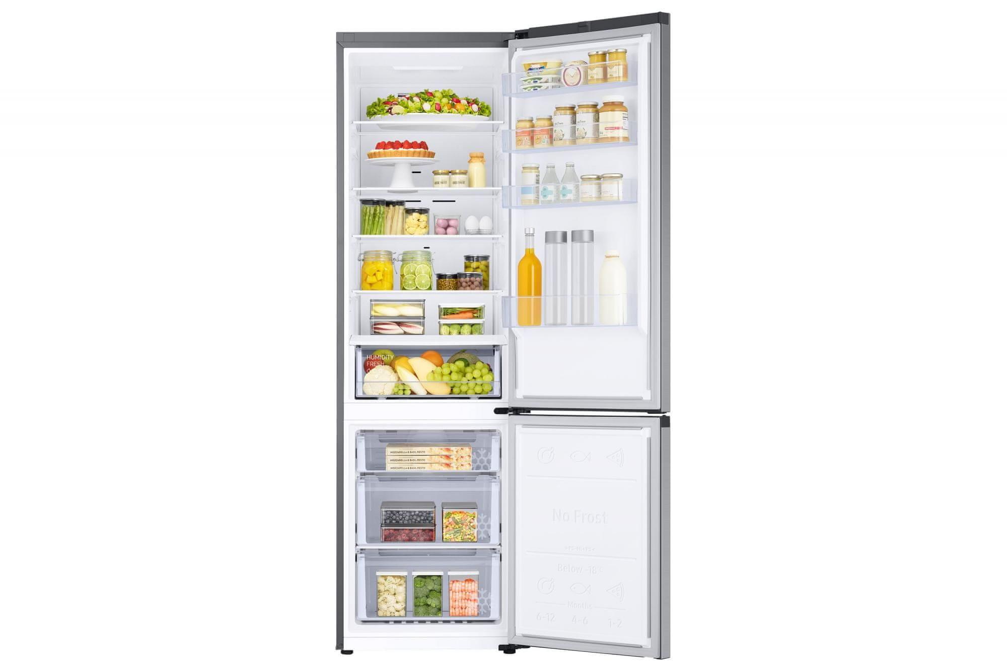 Kombinovaná chladnička Samsung RB38T606DSA/EF