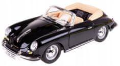 BBurago auto Porsche Cabriolet 1:24, czarny