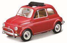 BBurago auto Fiat 500L (1968) 1:24, czerwony