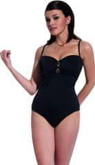 Krisline Dámské jednodílné plavky Donna - Kris Line černá 70E