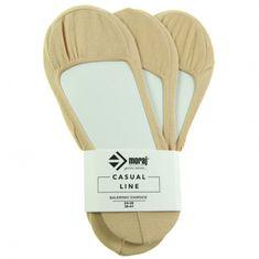 Moraj Dámské baleríny 330-001C 3pack - Moraj tělová 38-41