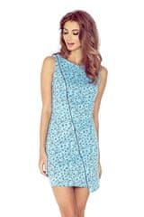 Morimia Dámské šaty 004-5 modrá XL