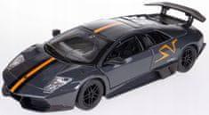 BBurago auto Lamborghini Murciélago LP 670-4 SV 1:24, szary