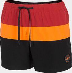 4F Pánské plážové šortky 4F SKMT201 Černé XL