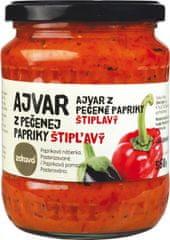 Ajvar z pečenej papriky štipľavý 560g (bal. 6ks)