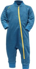 Devold Nibba Baby Wool Playsuit fantovski funkcionalni pajac, moder, 62