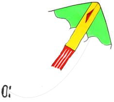 Drak lietajúci nylonový - 118 x 98 cm
