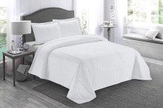 Přehoz na postel AYDIN 160x245 cm bílý