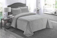 Prehoz na posteľ AYDIN 160x245 cm sivý