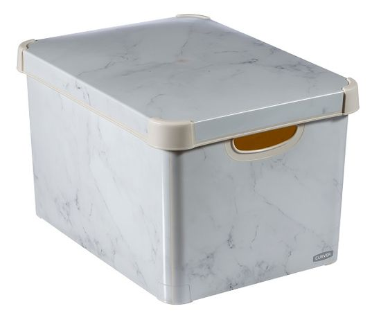 CURVER pudełko do przechowywania S Marmur