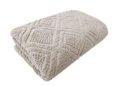 Framsohn ručník Mosaik 50x100 hnědošedá