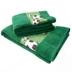 Framsohn ručník fotbal 50x100 zelená