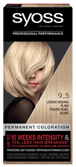Syoss Baseline Color barva za lase, 9-5 ledeno biserno blond