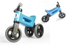 Teddies Odrážedlo FUNNY WHEELS Rider Sport modré 2v1, výška sedla 28/30cm nosnost 25kg 18m+