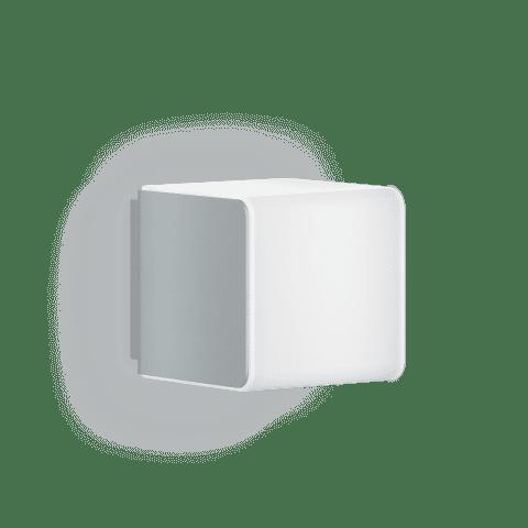 STEINEL Zunanja svetilka z senzorjem L 830 LED iHF Srebrna
