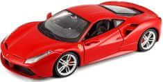 BBurago model 1:24 Ferrari 488 GTB czerwony
