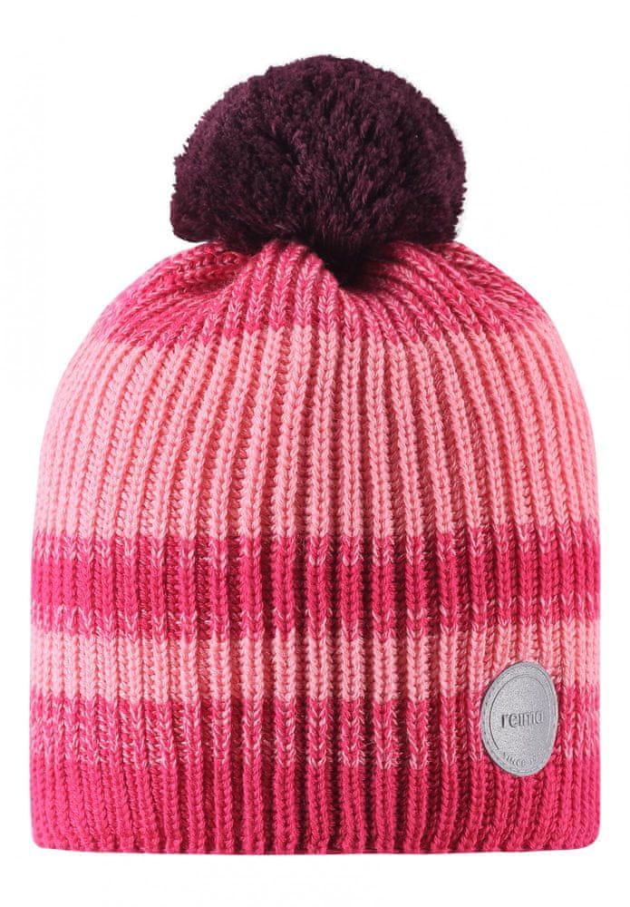 Reima dívčí čepice Hinlopen 48 - 50 růžová
