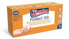 Spontex zestaw rękawiczek jednorazowych PROTECT 100 S