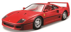 BBurago model 1:24 Ferrari F40 czerwony