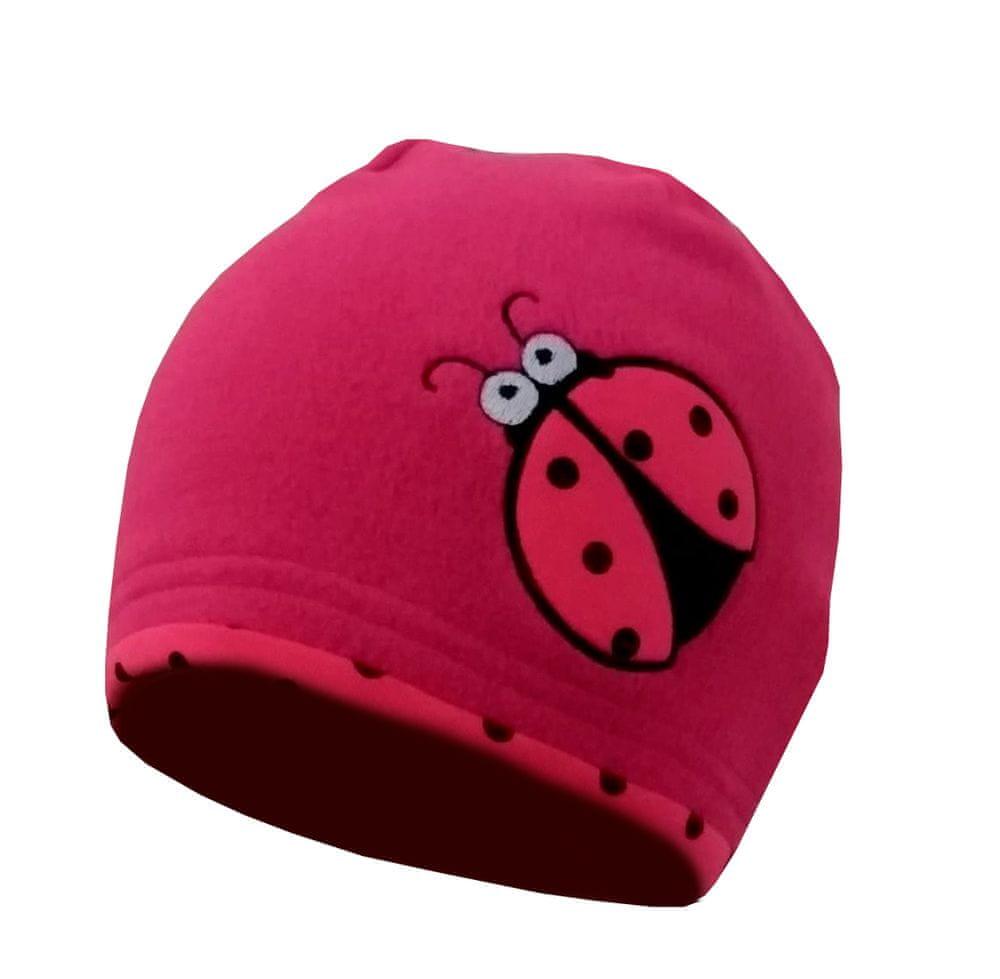 Yetty dívčí čepice F75 S růžová