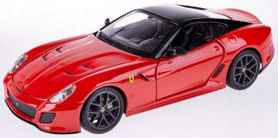 BBurago model Ferrari 599 GTO 01:24, rdeč