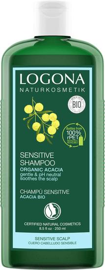 LOGONA Šampón SENSITIVE BIO akácia - 250ml