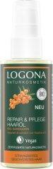 LOGONA Vlasový olej s rakytníkovým olejom - 75ml