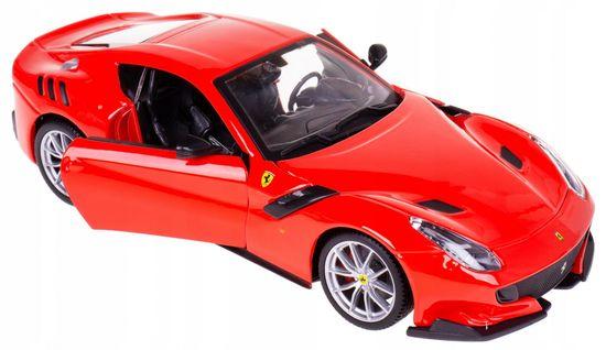 BBurago model Ferrari F12TDF, 1:24, rdeč