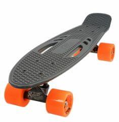"""Sulov Penny board 22"""" CITY šedo-oranžový"""