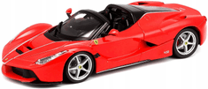 BBurago model 1:24 Ferrari La Ferrari Aperta czerwony