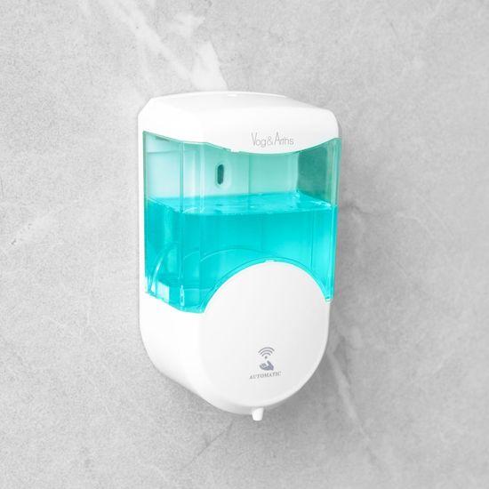 Vog&Arths Senzorski dozirnik mila ali razkužila - 600 ml - stenski - na baterije - bel