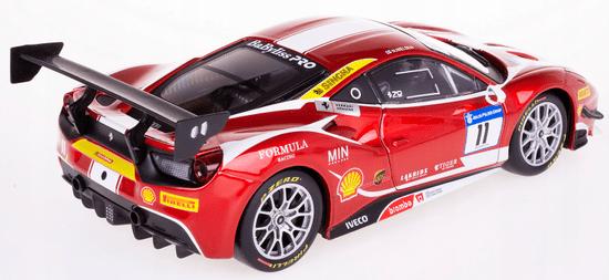 BBurago model Ferrari Racing 488 Challenge 2017, 1:24