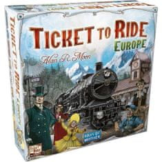 Days of Wonder družabna igra Ticket to Ride Europe