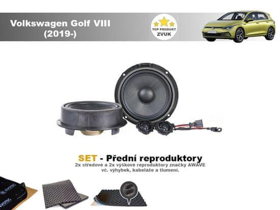 Awave SET - přední reproduktory do Volkswagen Golf VIII ( 2019- ) - Awave AWV650C