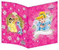 Jiri Models ovitek za zvezek Disney princese, A4