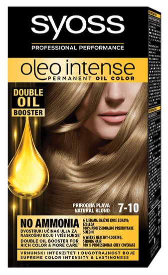 Syoss Oleo Intense barva za lase, 7-10 naravno blond